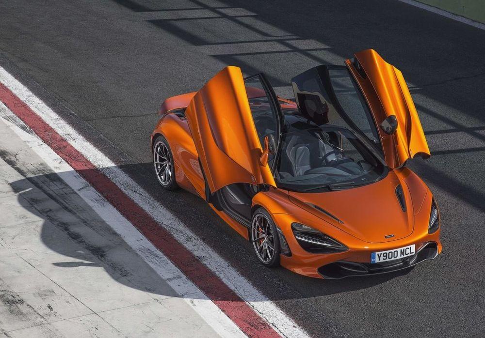 McLaren 720S 2017 Top