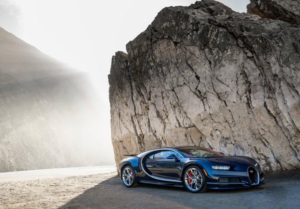 Bugatti Chiron 2017 Front