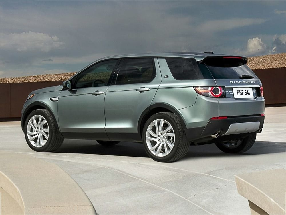 Land Rover Discovery Sport 2017 rear side view