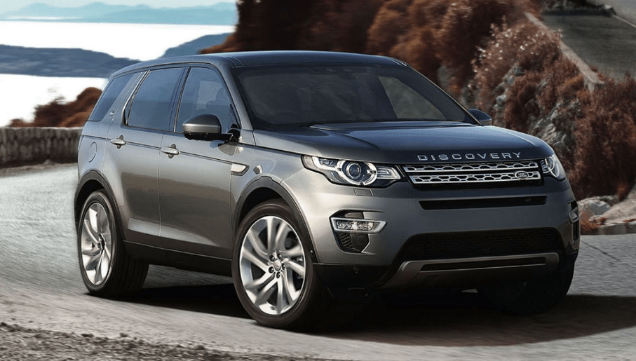 Land Rover Discovery Sport 2017 front side view