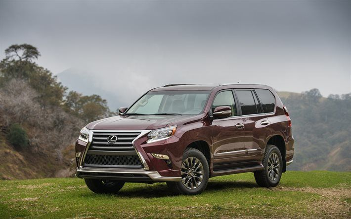 Lexus GX460 2017 front side view