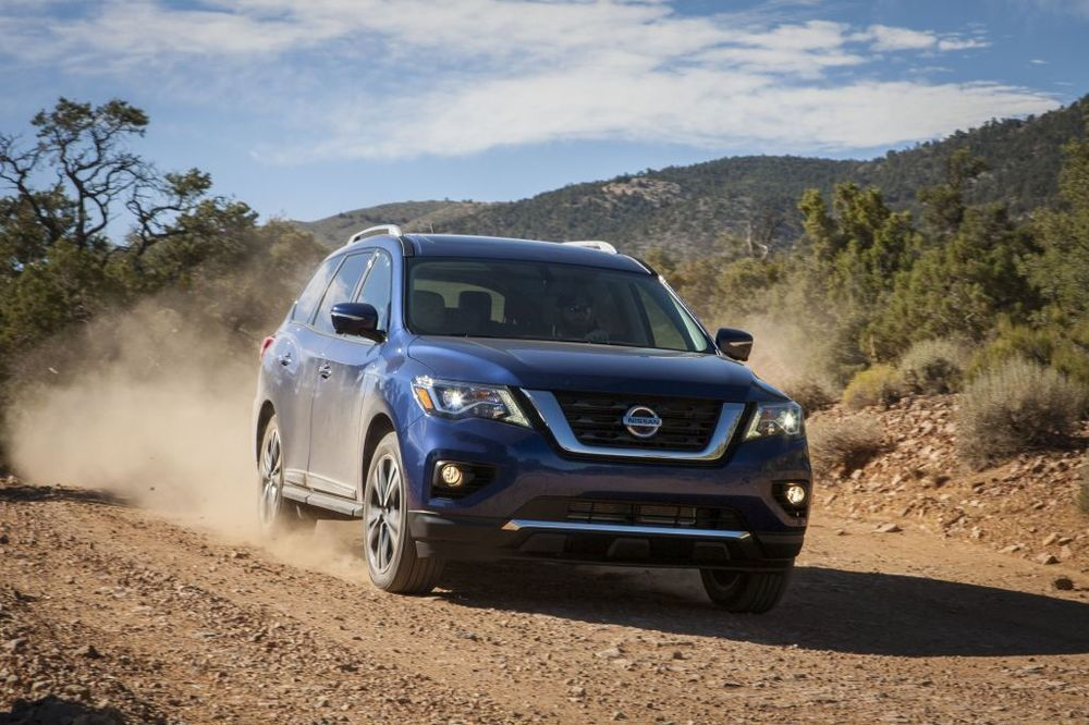 Nissan Pathfinder 2018 front right