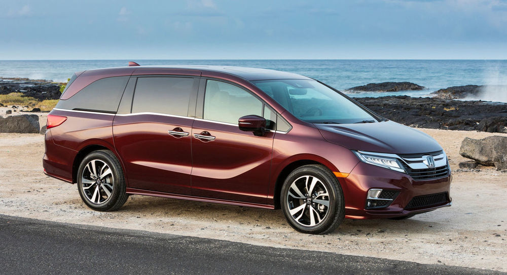 Honda Odyssey 2018 front side view