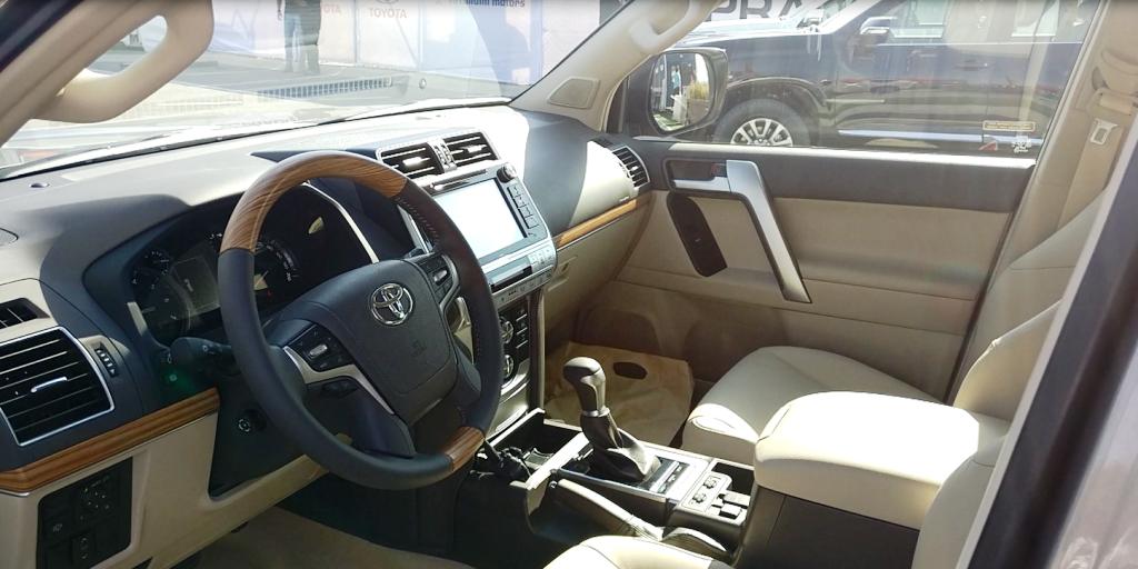 2018 Toyota Land Cruiser Prado launched in the UAE | UAE ...
