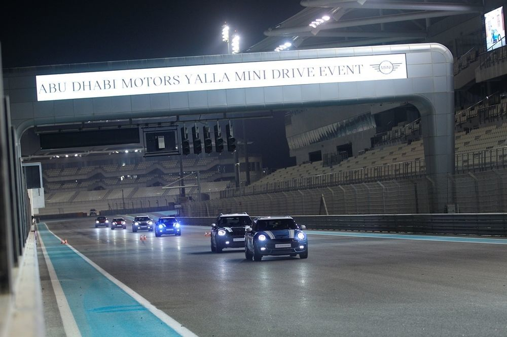 MINI Track Event Abu Dhabi