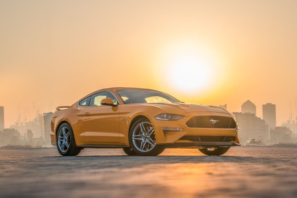 Ford Mustang 2018 Front