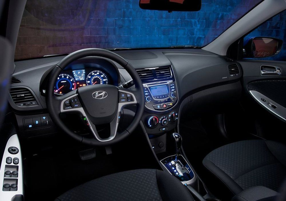 Hyundai Accent 2017 Interior