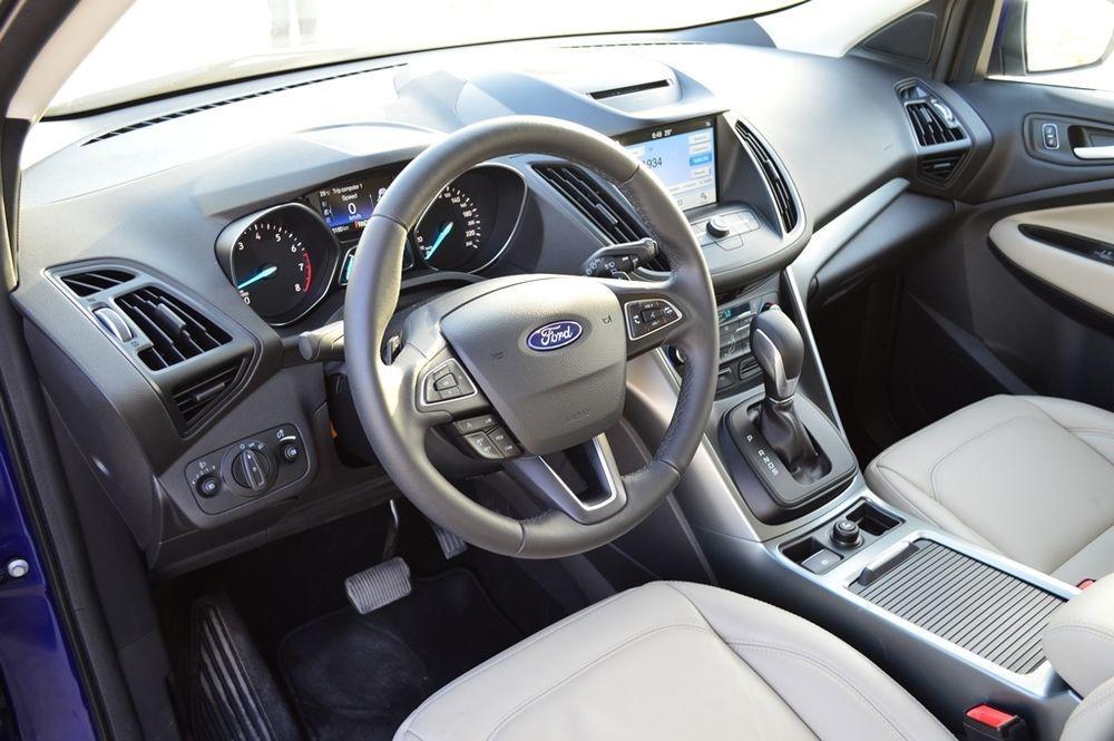 Ford Escape 2017 interior