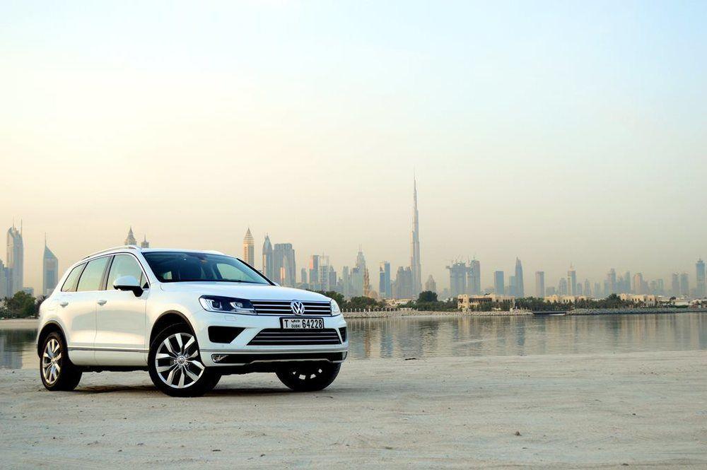 Volkswagen Touareg 2017 Front