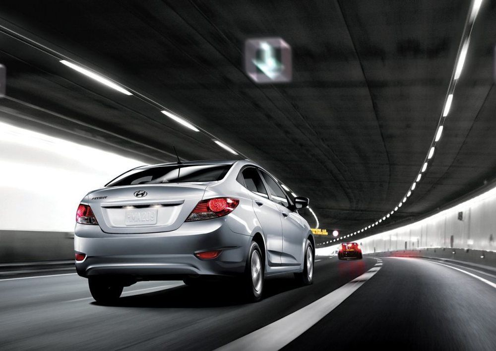 Hyundai Accent 2017 Rear