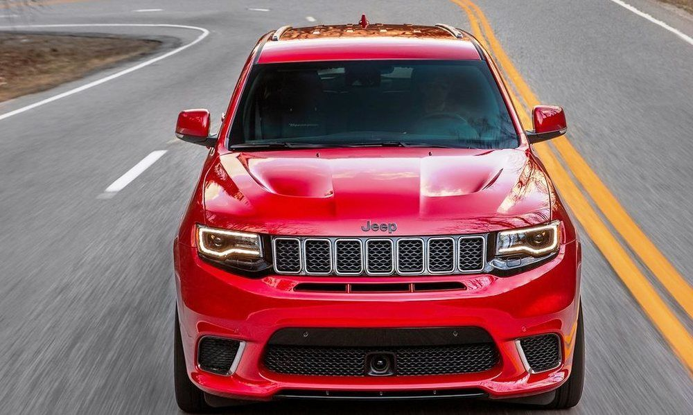 Jeep Grand Cherokee 2018 front
