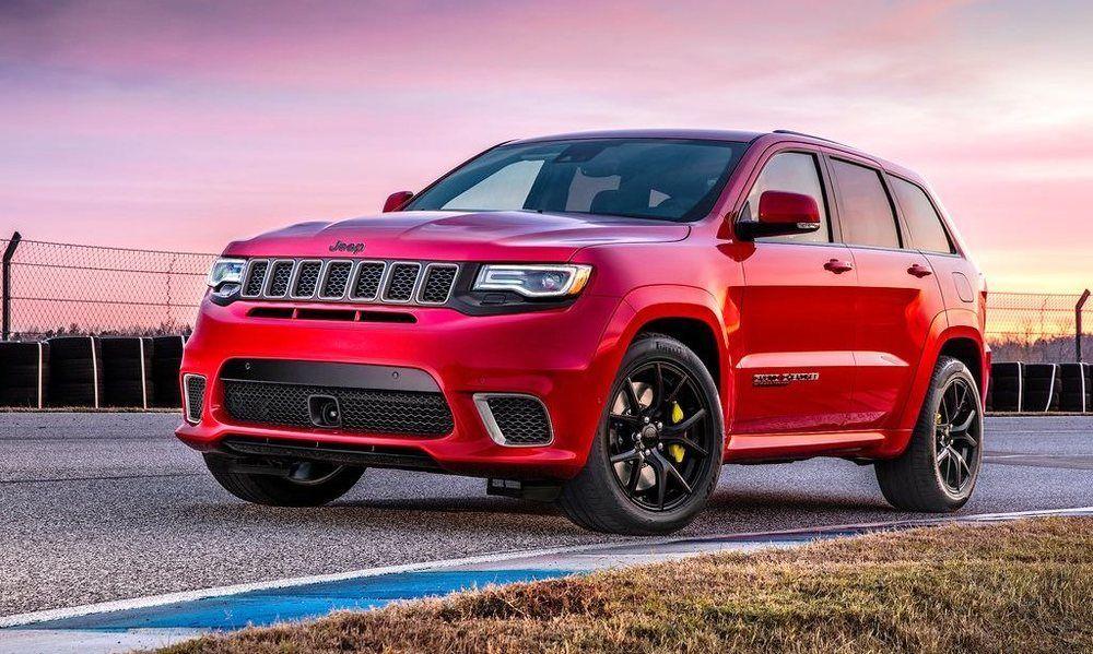 Jeep Grand Cherokee Trackhawk 2018 front left