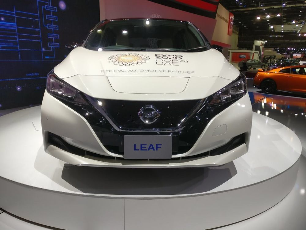 Nissan Leaf 2018 Dubai International Motor Show