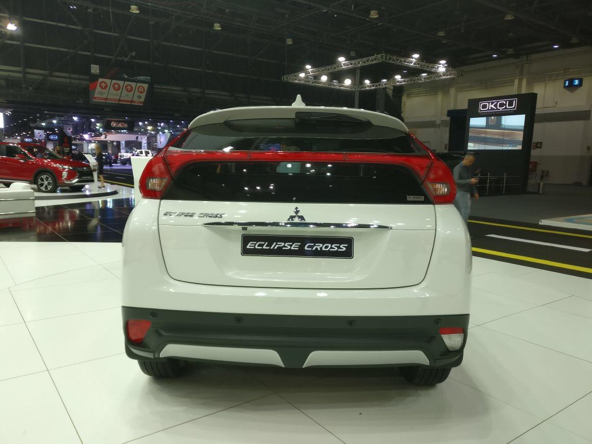 2018 Mitsubishi Eclipse Cross At The Dubai International Motor Show Qatar Yallamotor