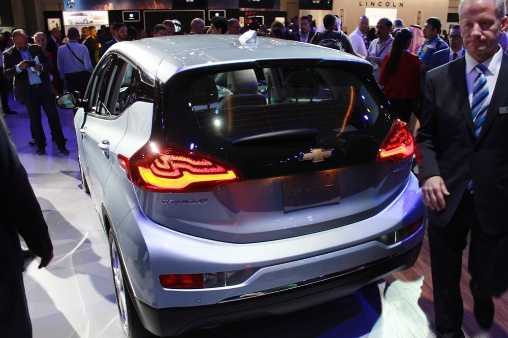 Chevrolet Bolt 2018 rear view