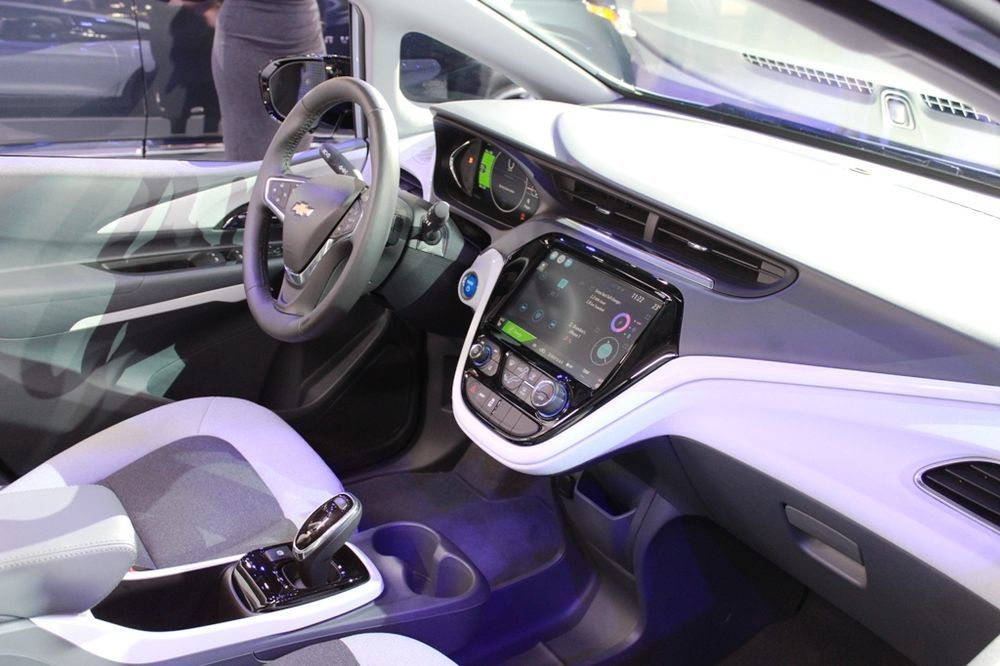 Chevrolet Bolt 2018 cabin