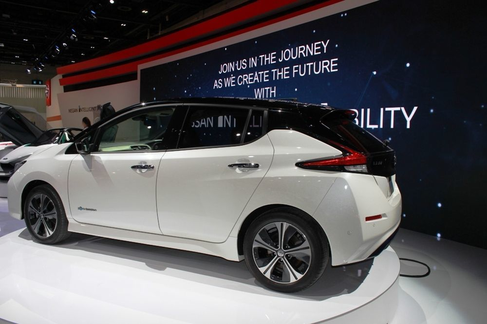 Nissan Leaf 2018 rear left