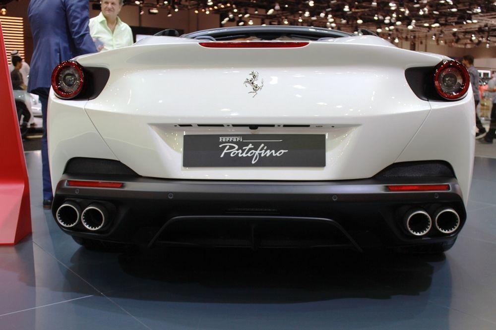 Ferrari Portofino 2018 rear