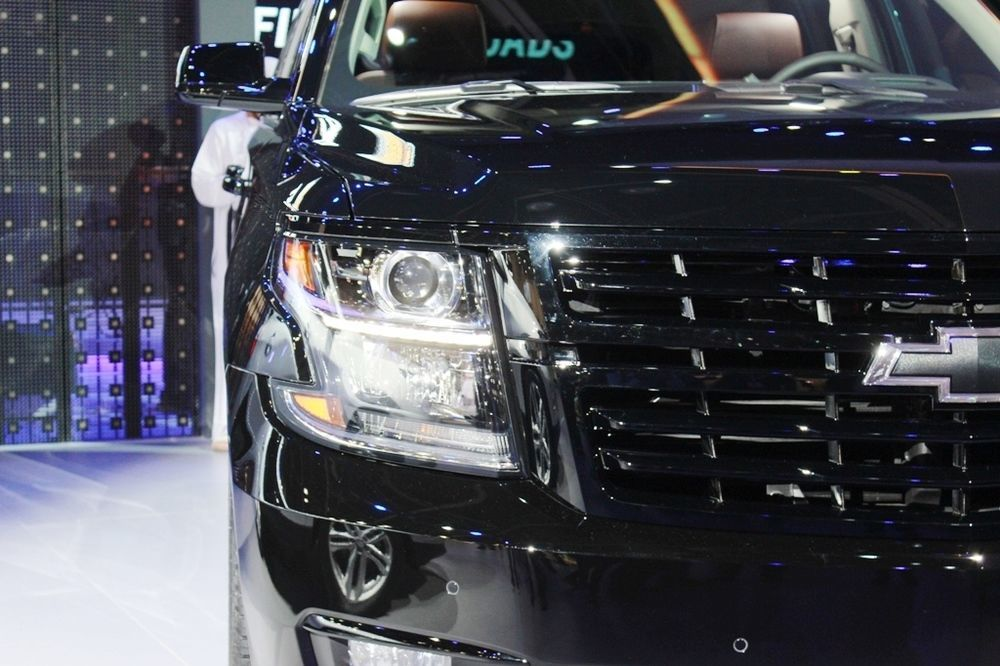 Chevrolet Tahoe RST 2018 front closeup