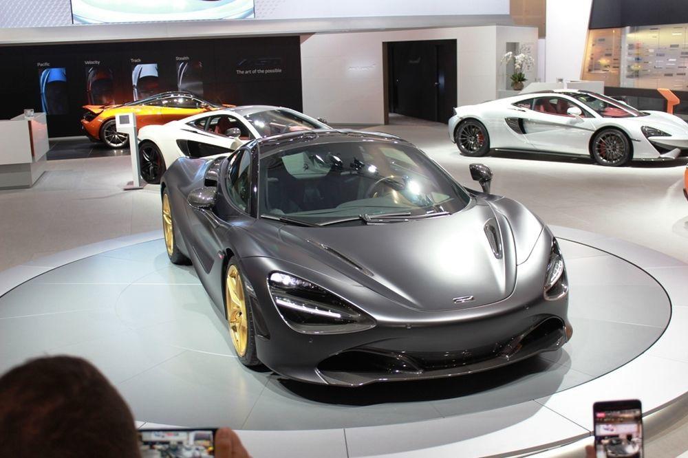 McLaren 720S 2018 front