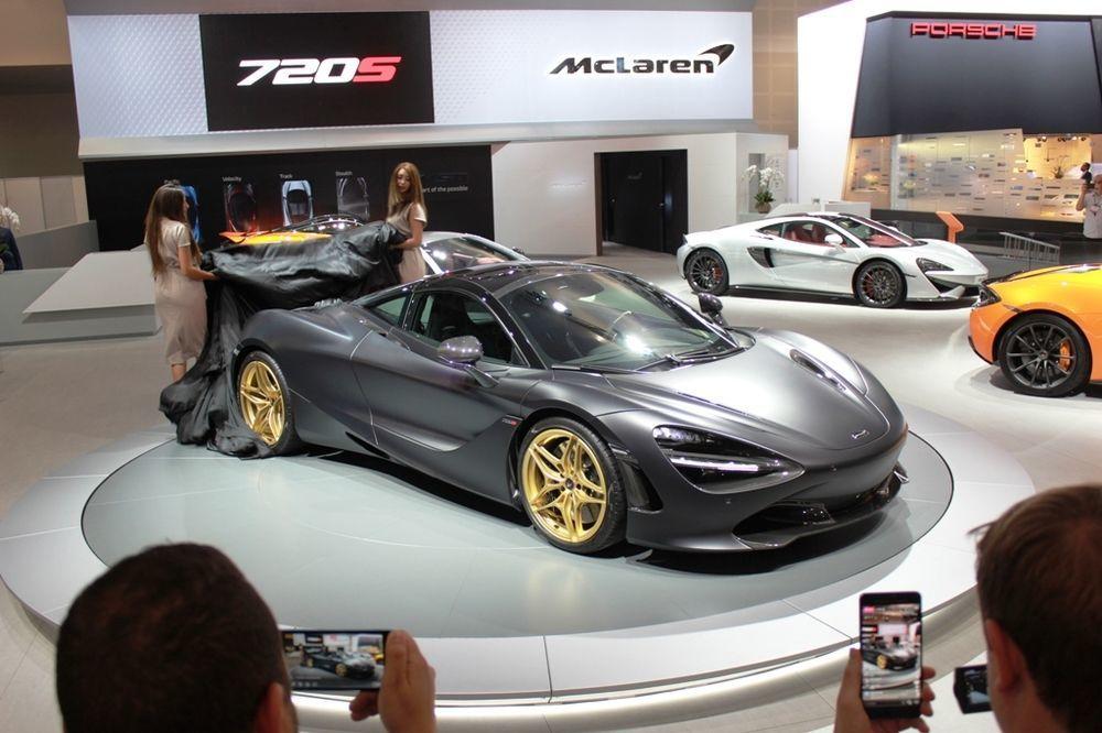 McLaren 720S 2018 front side view