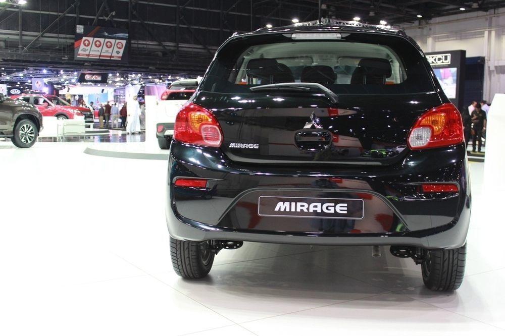 Mitsubishi Mirage 2018 rear