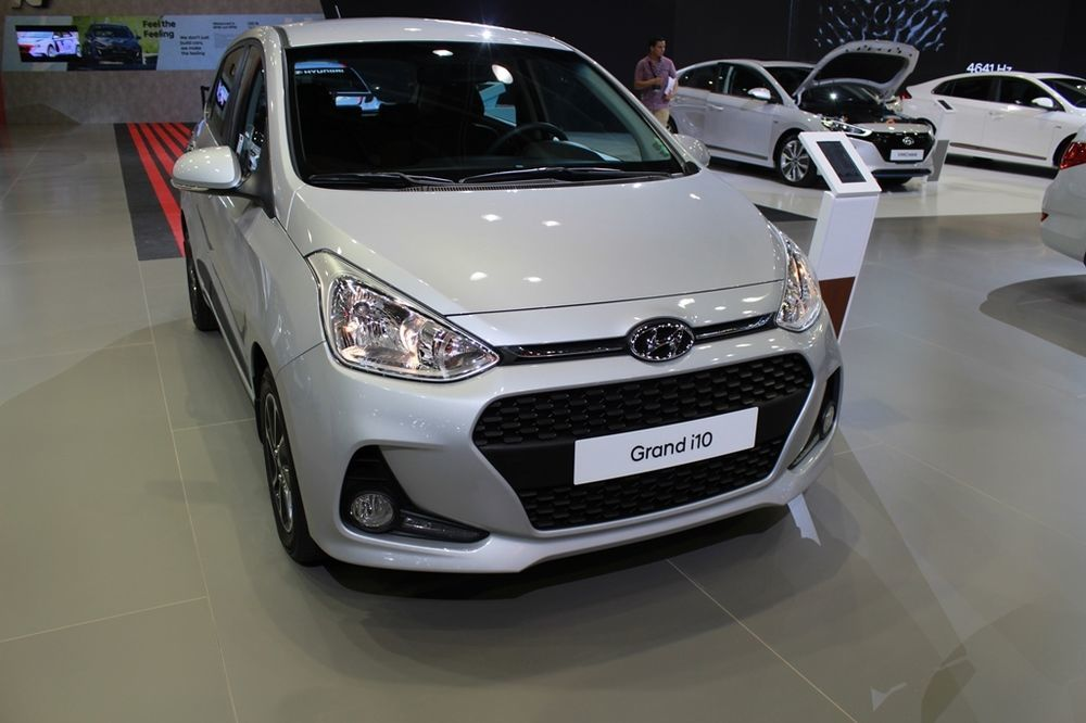 Hyundai Grand i10 2018 front