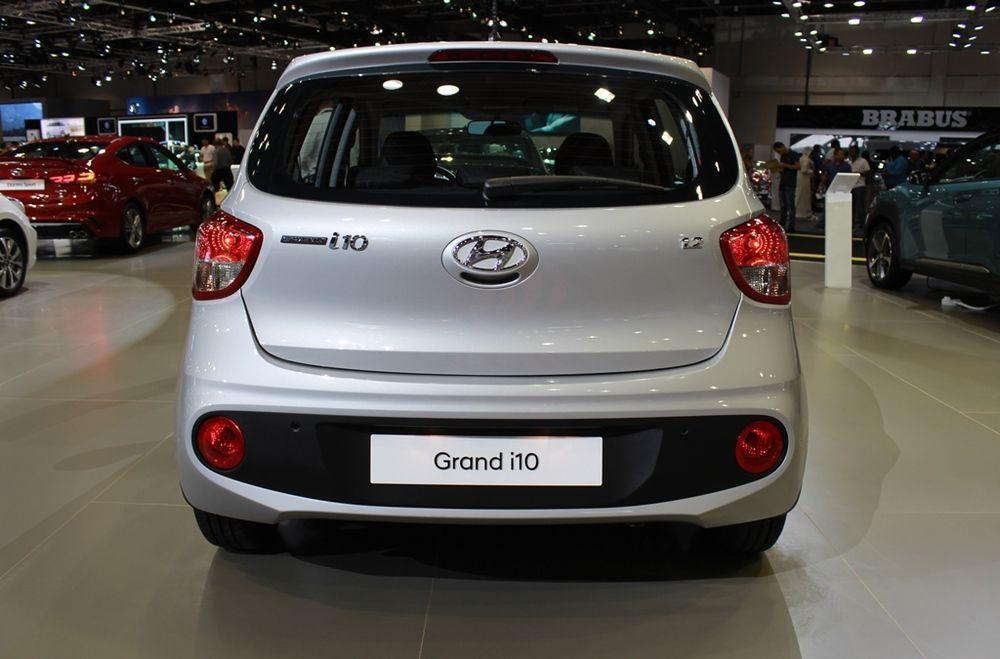 Hyundai Grand i10 2018 rear