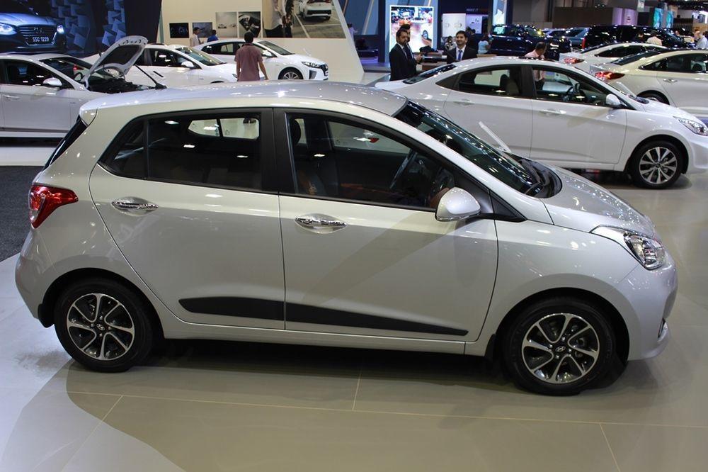 Hyundai Grand i10 2018 right side