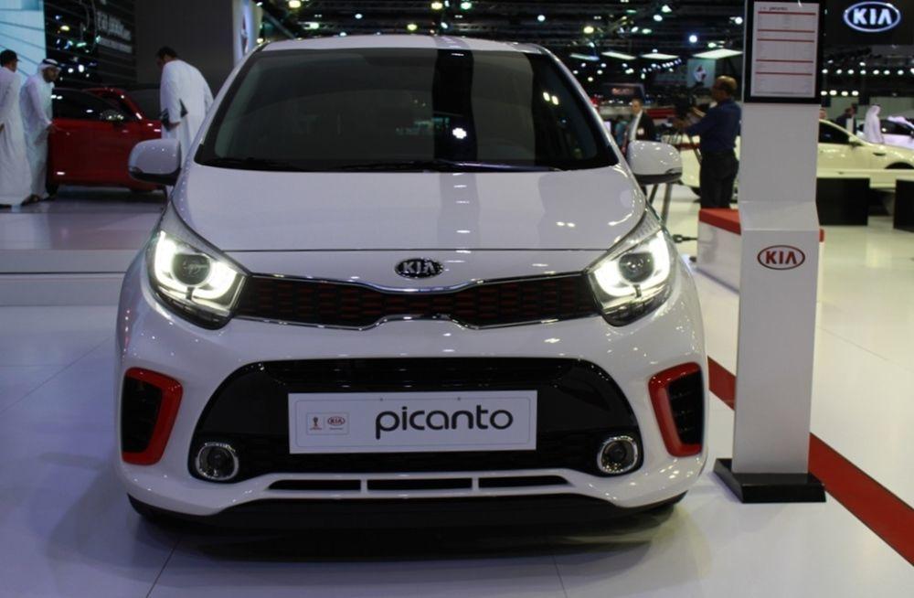 Kia Picanto 2018 front