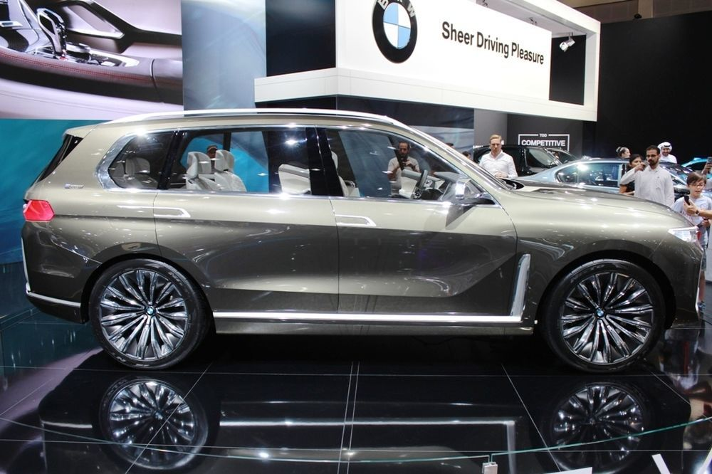 BMW X7 Concept side view