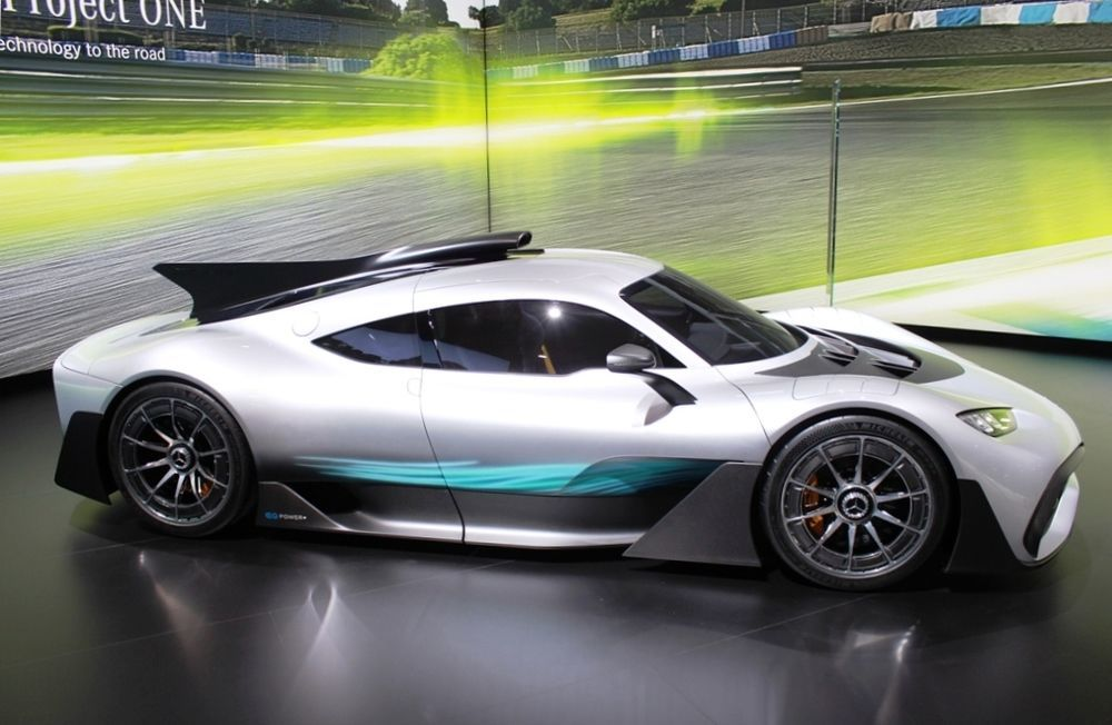 Mercedes-AMG Project One right side
