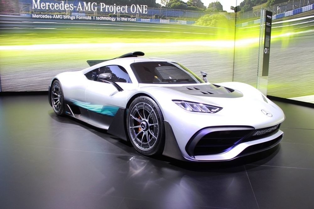 Mercedes-AMG Project One right profile