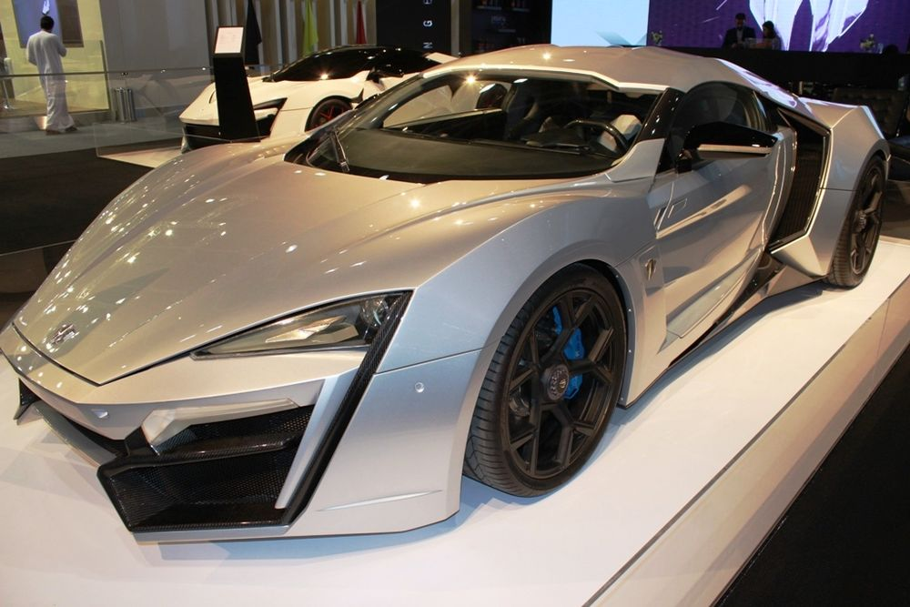 W Motors Lykan HyperSport at the Dubai Motor Show
