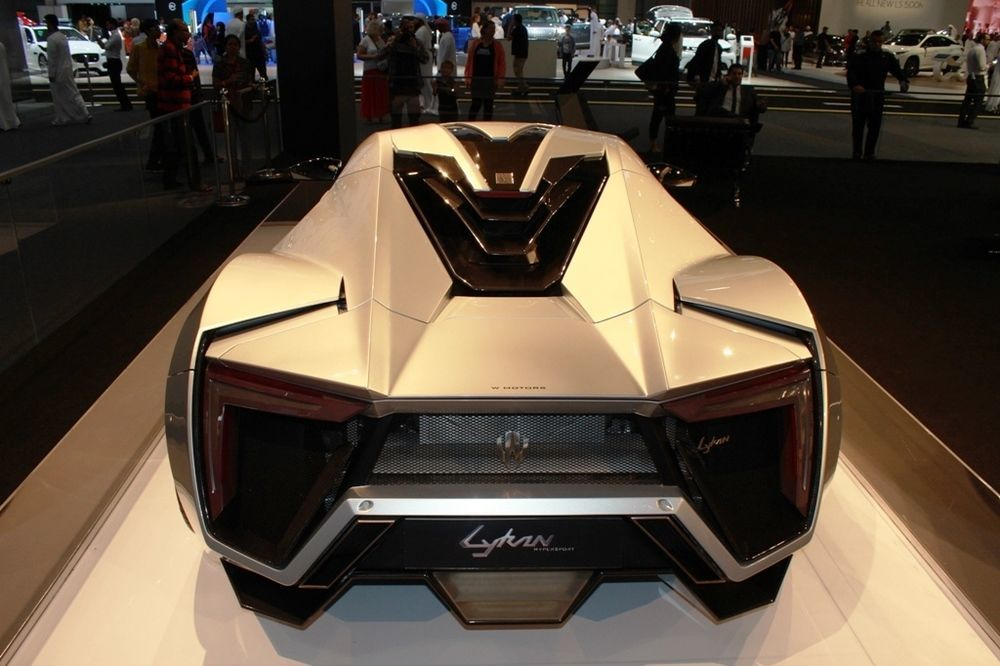 Lykan Hypersport Rear