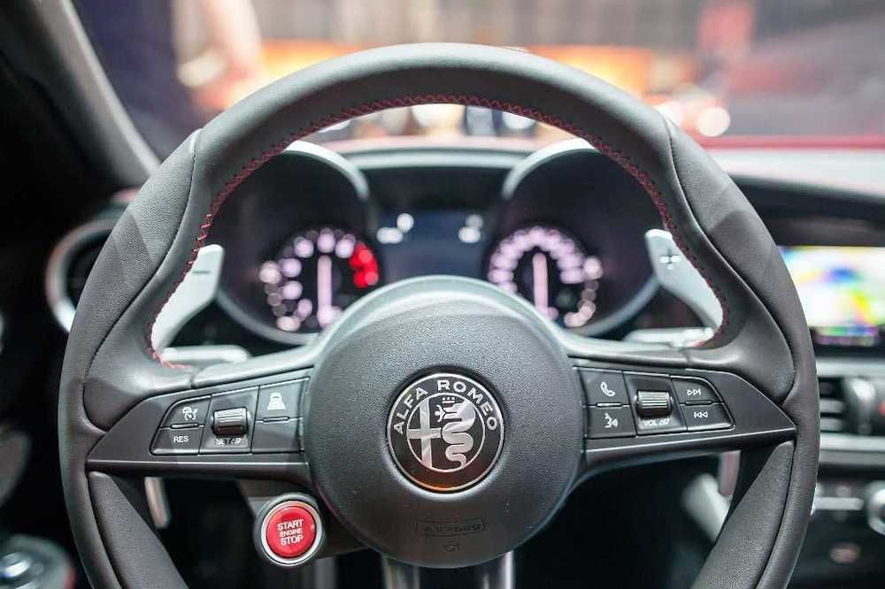 Alfa Romeo Giulia 2018 Interior