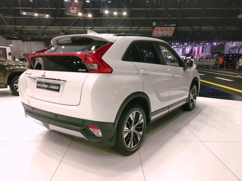 2018 Mitsubishi Eclipse Cross Revealed At The Dubai Motor