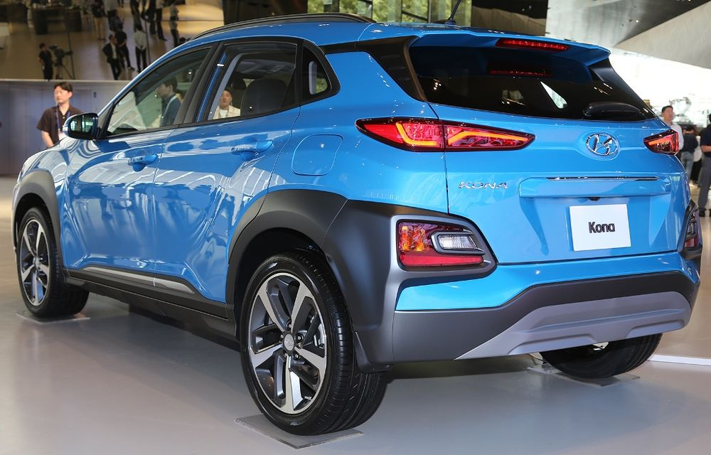 Hyundai Kona 2018 rear left