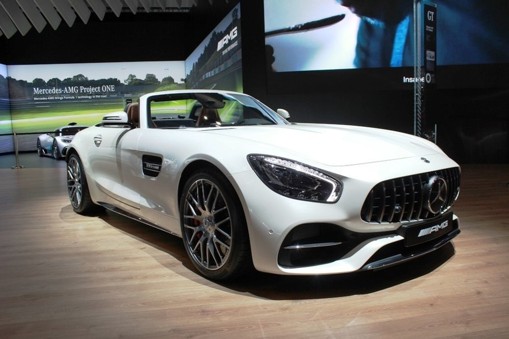 Mercedes-AMG GT C Roadster 2018 front right