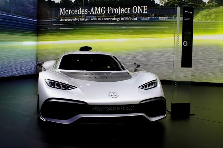 Mercedes-AMG Project One Concept front
