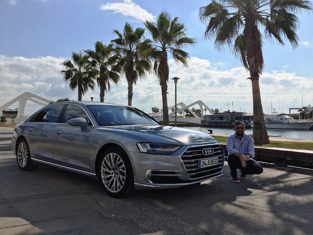 Audi A8 2018 Front