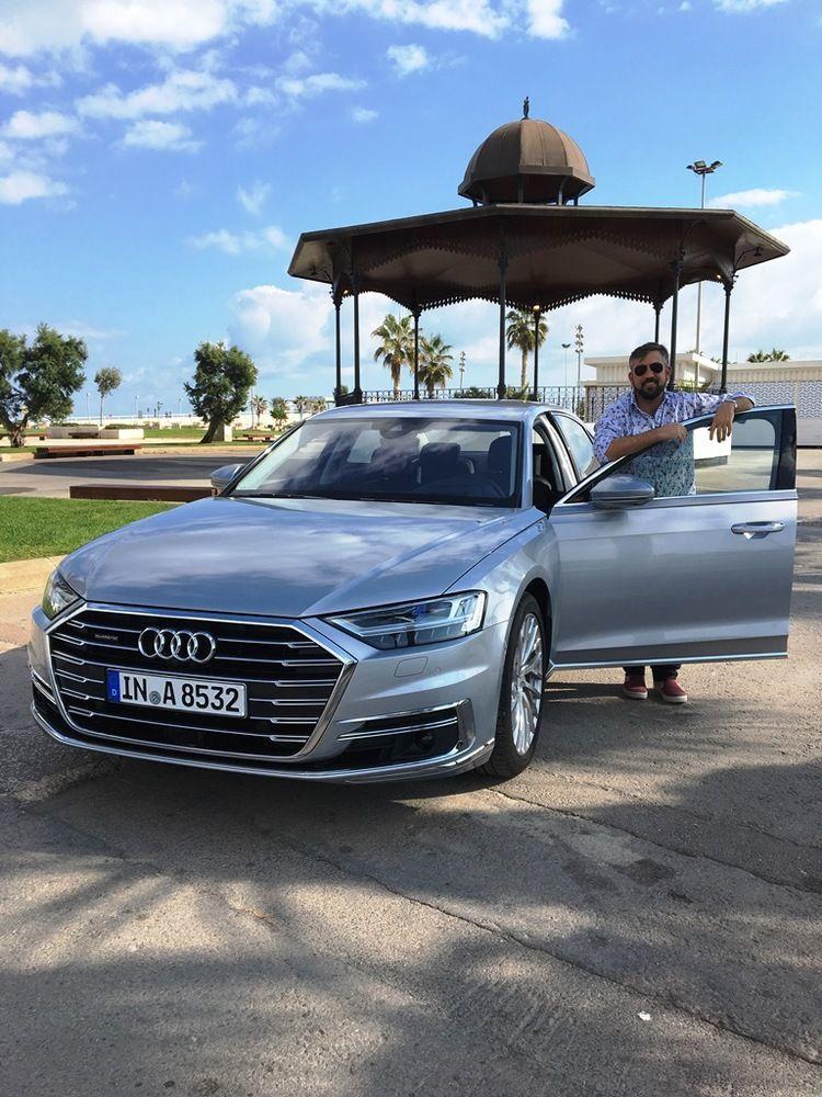 Audi A8 2018 UAE