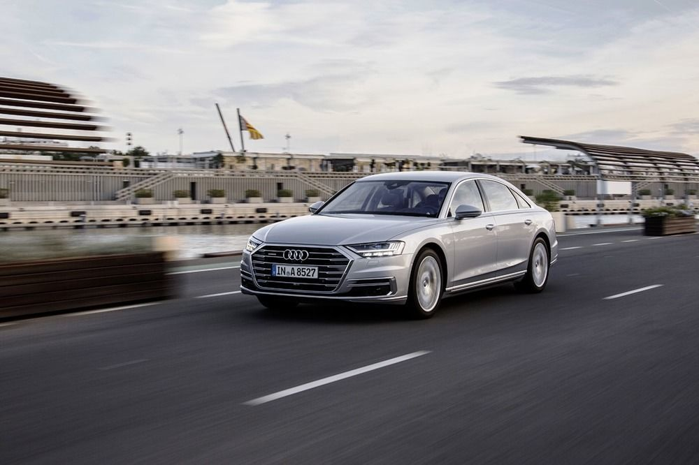 Audi A8 2018 Front Side