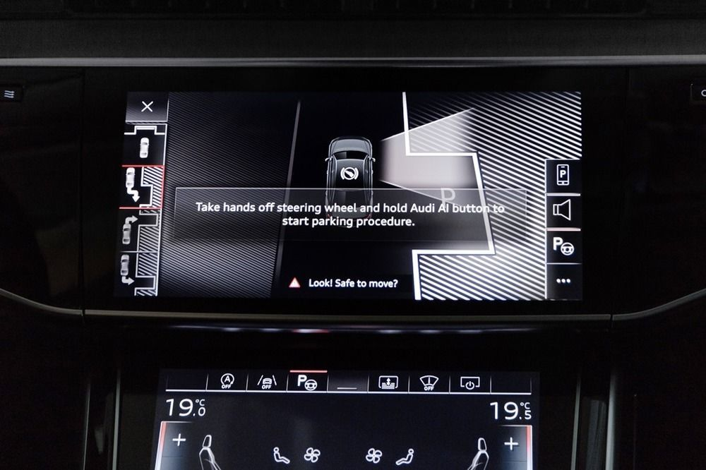 Audi A8 2018 Interior