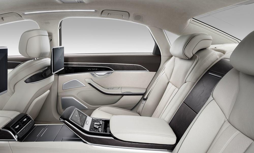 Audi A8 2018 Interior Rear Seat