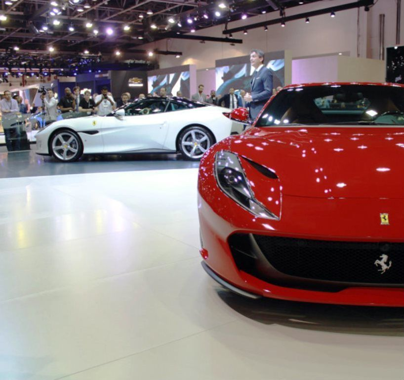 Ferrari 812 Superfast 2018 UAE