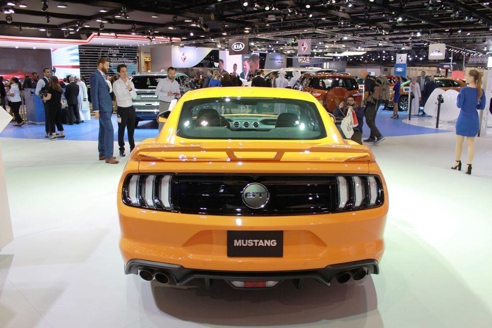 Ford Mustang 2018 rear