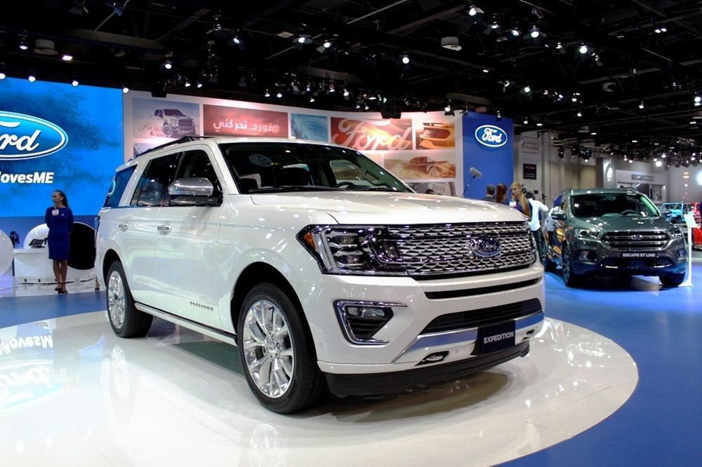 Ford Expedition 2018 front right