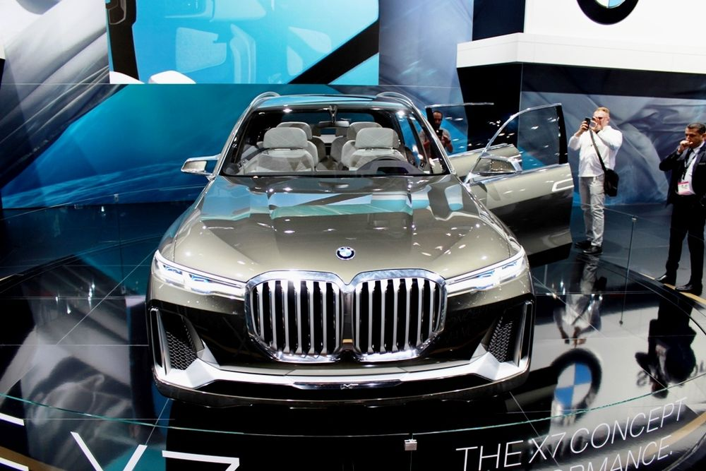 2018 Bmw X7 Concept Iperformance At The Dubai Motor Show Uae