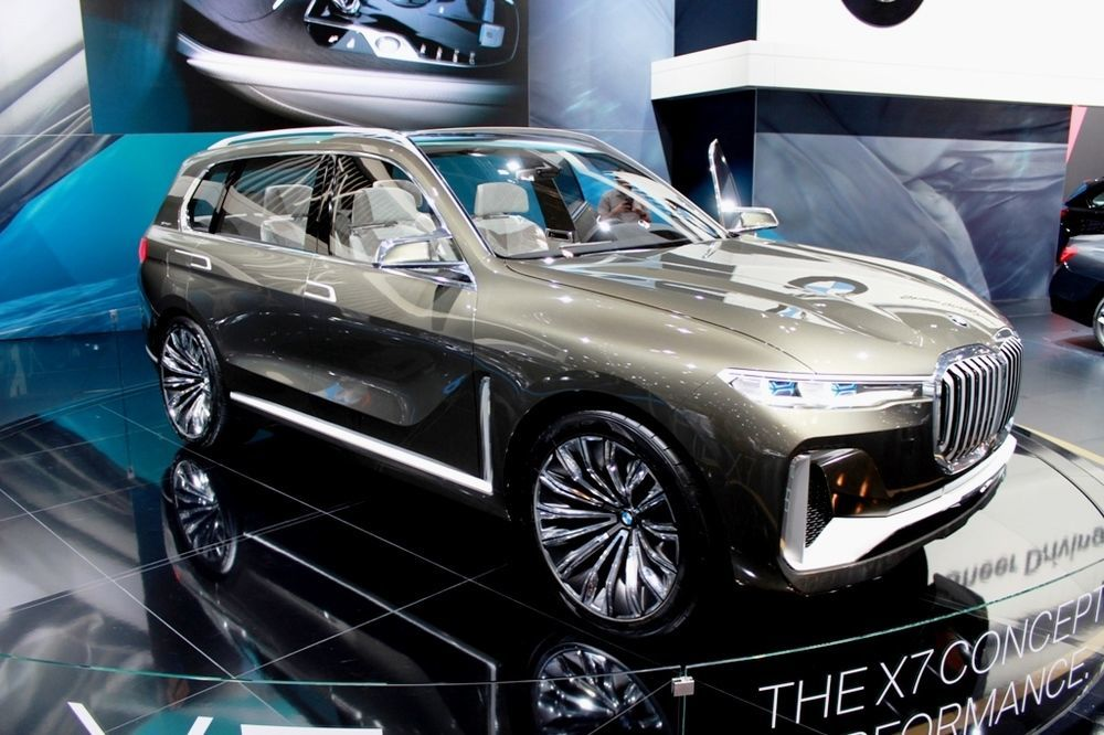 BMW X7 Concept 2018 front right